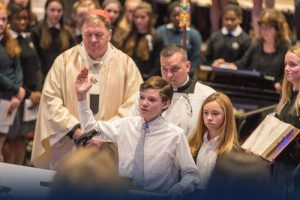 A celebration of spiritual life that is woven throughout the academic program.