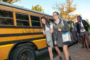 Bus Transportation to Oak Knoll