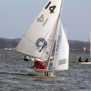 Oak Knoll's sailing team