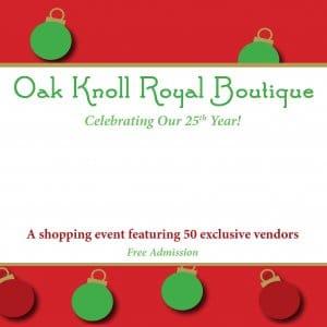 Oak Knoll Royal Boutique postcard image