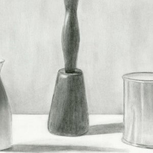 Graphite Drawing by Katherine Whelan '21