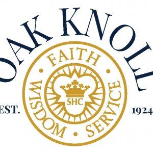 Oak Knoll 1924 logo over white