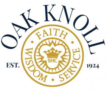 Oak Knoll 1924 logo over white