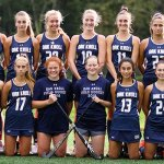 Oak Knoll's field hockey team poses for a picture
