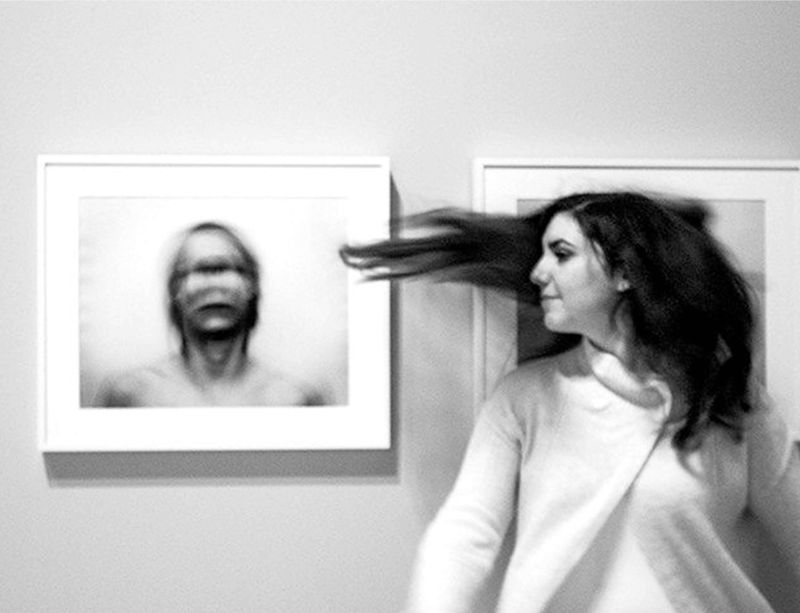 "Emma Saheed '18 earned an Honorable Mention for her photo ""Disturbance"" in the 2017 Regional Scholastic Art Competition."