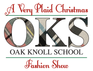 oak knoll fashion show logo plaid full 2019