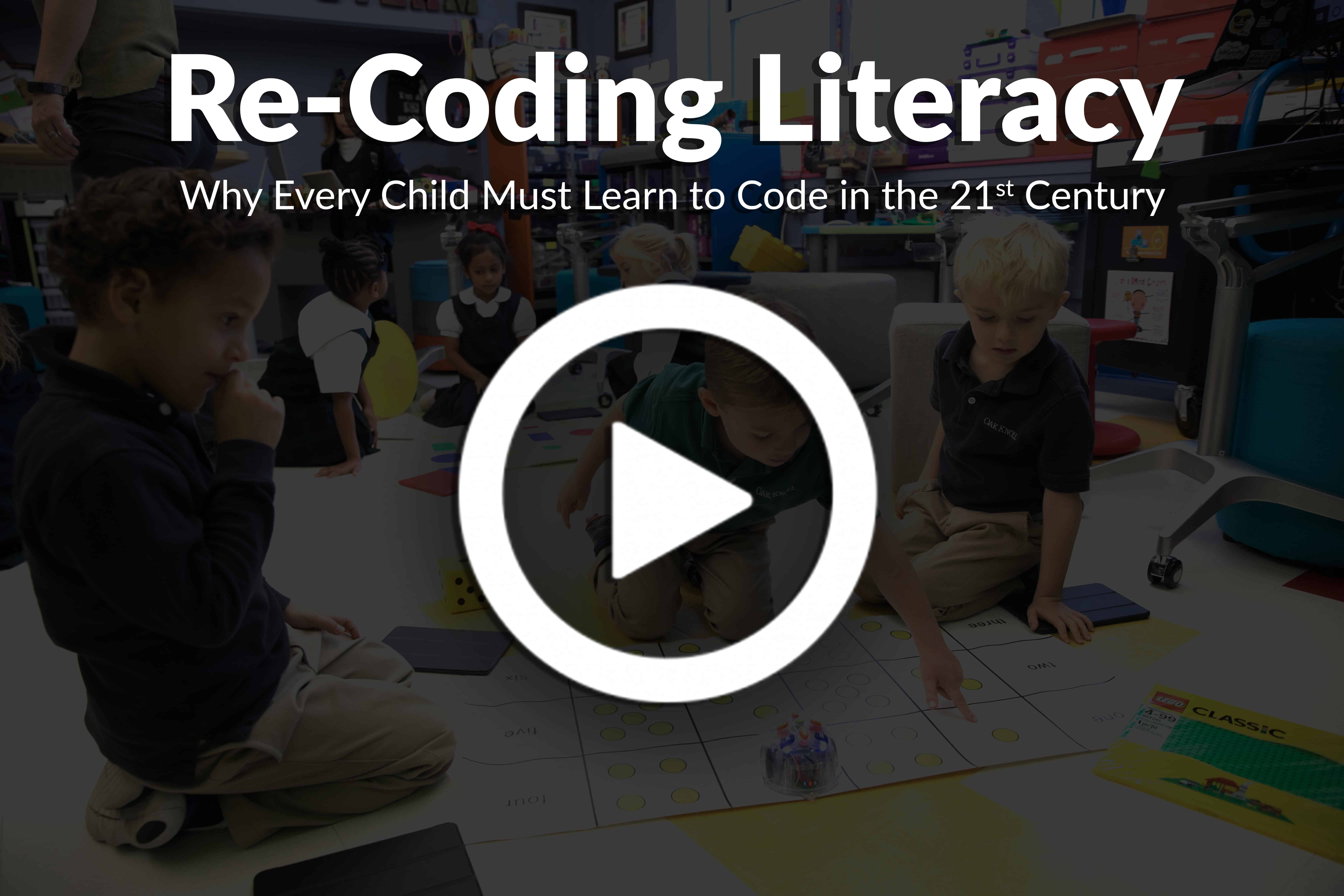 Re-Coding Literacy at Oak Knoll School