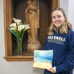 oak knoll senior Julianna Feit '20 earns a gold award for girl scouts