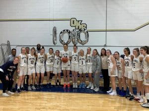 Paige Morton '20 scores her 1,000th point