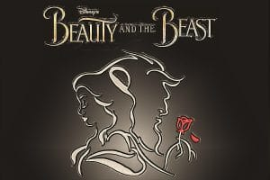 poster of oak knoll's beauty and the beast