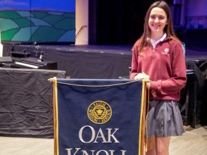 Oak Knoll School's Caroline Hall was named as a finalist in the 65th annual National Merit Scholarship Program