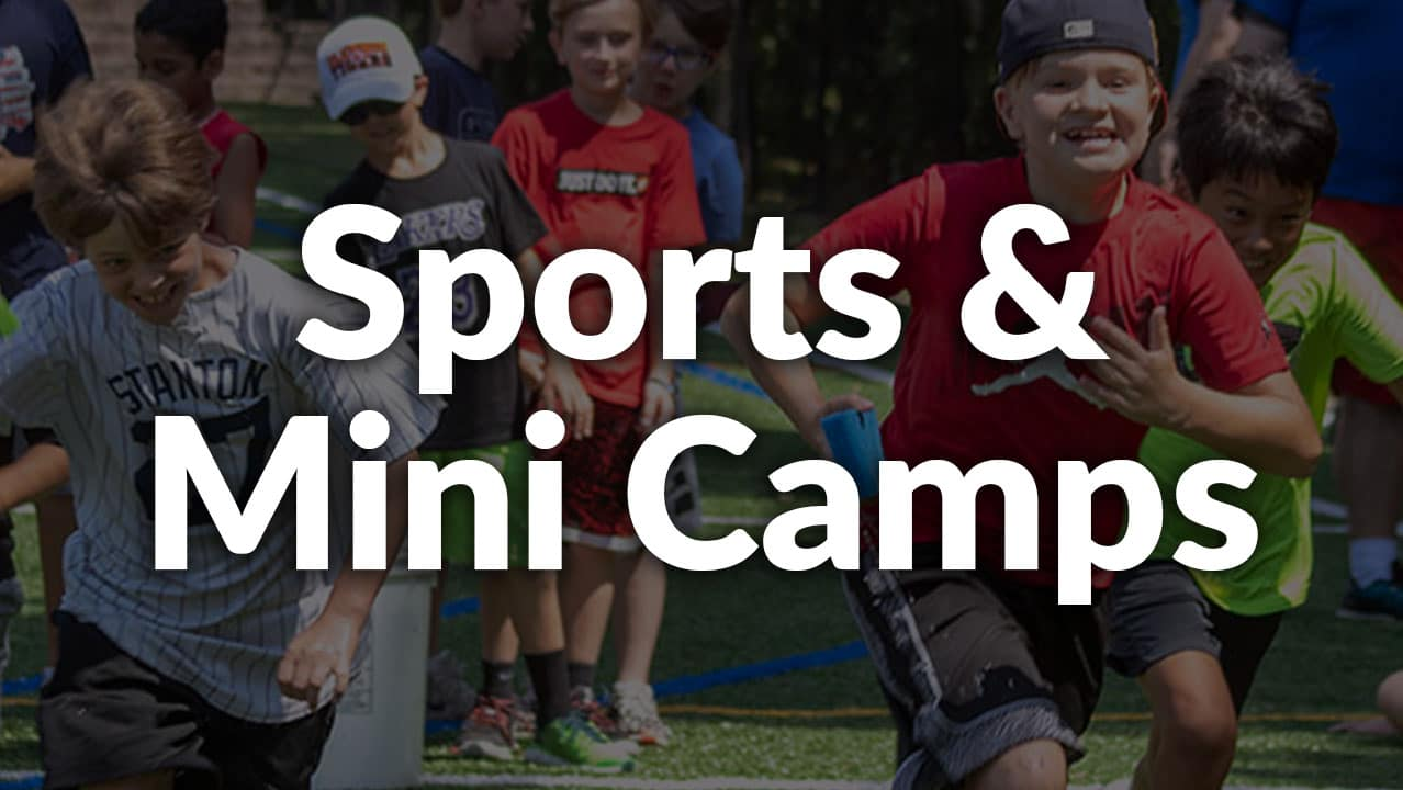 sports and mini camps button