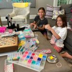 Adragna sisters create bracelets to donate to organizations in need.