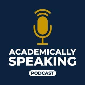 academically speaking podcast logo