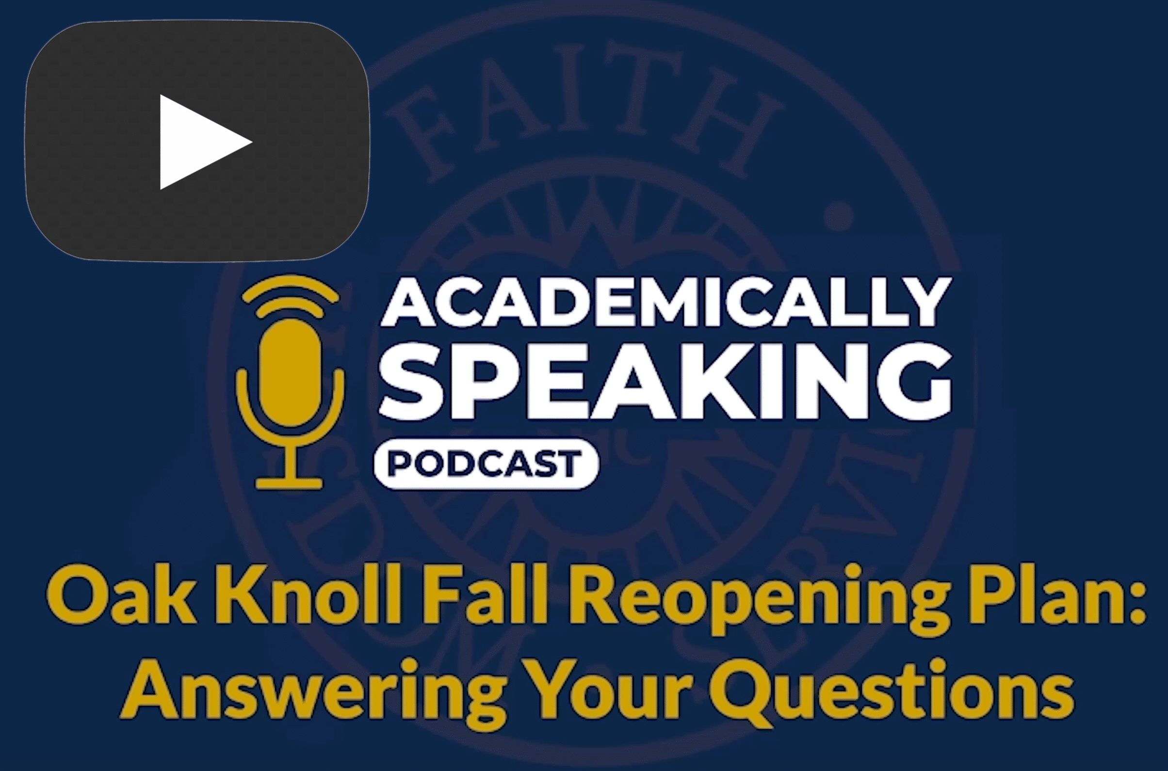 a link to the reopening of school podcast
