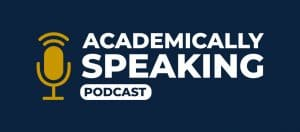 academically speaking podcast header image