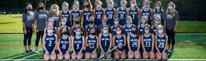 Team photo of Varsity Field Hockey Squad