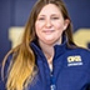 Profile picture of swimming coach Megan O'Connor.